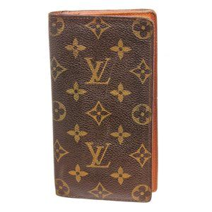 Louis Vuitton Vintage Canvas Long Card Wallet